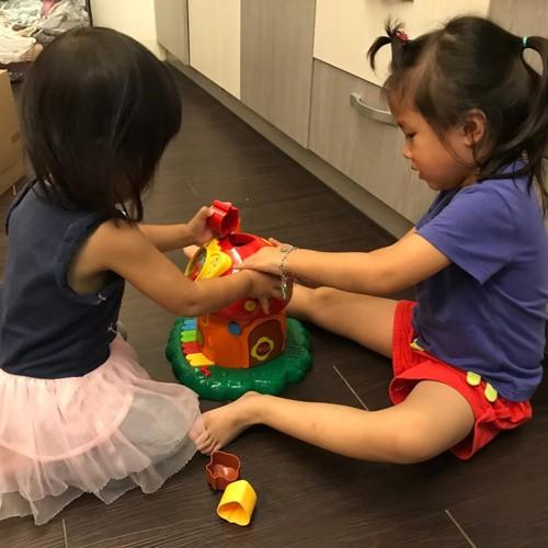 形狀配對玩具促進邏輯發展-神奇趣味蘑菇屋