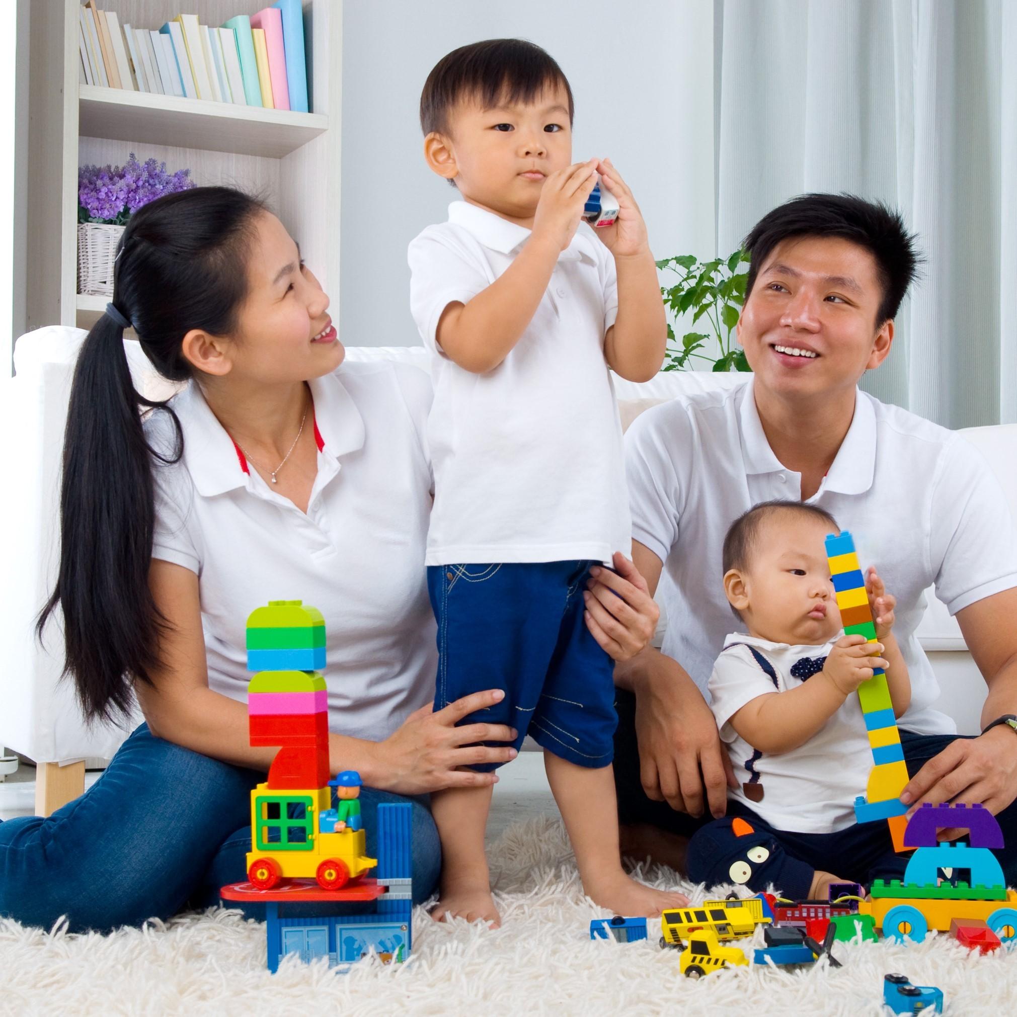 訓練孩子專注力,父母陪玩很重要