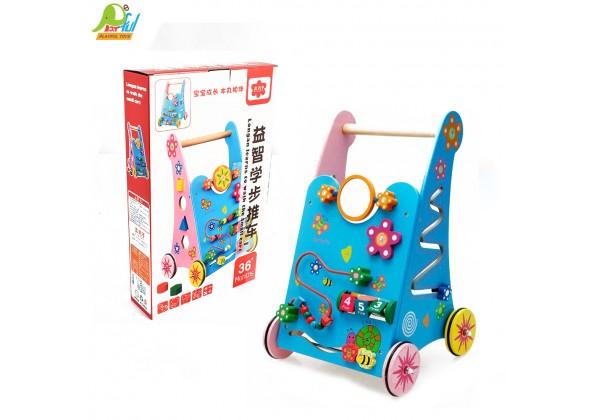 木製學步車