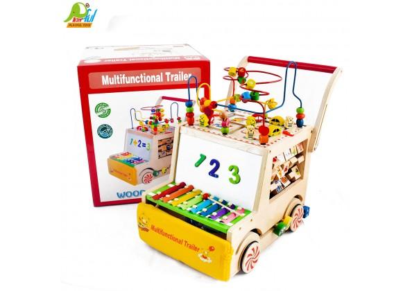 多功能木製推車