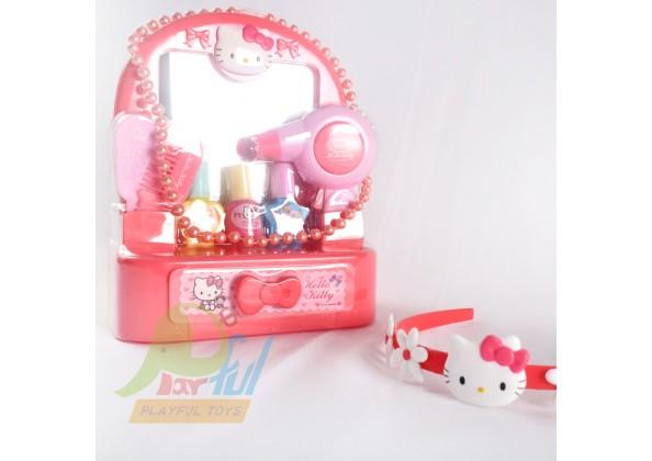 KITTY鏡梳玩具