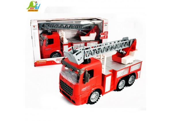 燈光音樂消防車
