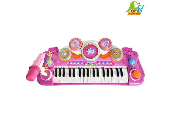 電子琴+拍拍鼓