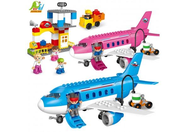 飛機積木組