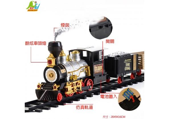 蒸氣軌道火車