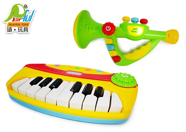 電子琴+電子喇叭組合