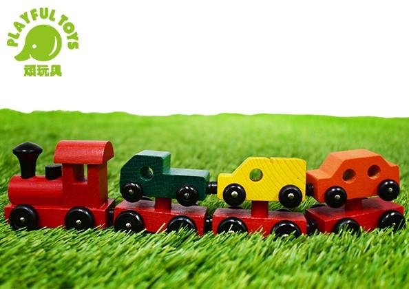 磁性拖拉彩色火車