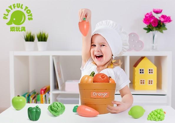 二色蔬菜桶