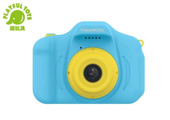 日本VisionKids HappiCAMU Mini 1200萬像素兒童數位相機